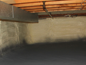 crawl space spray insulation for New Hampshire